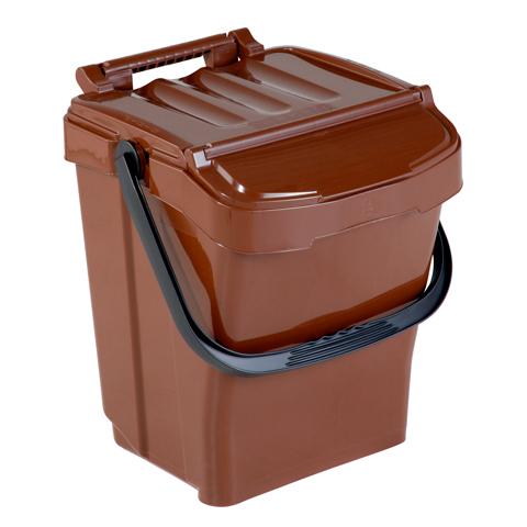 Odpadkový koš s držadlem a víkem