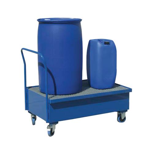 Záchytný vozík s pozinkovaným roštem