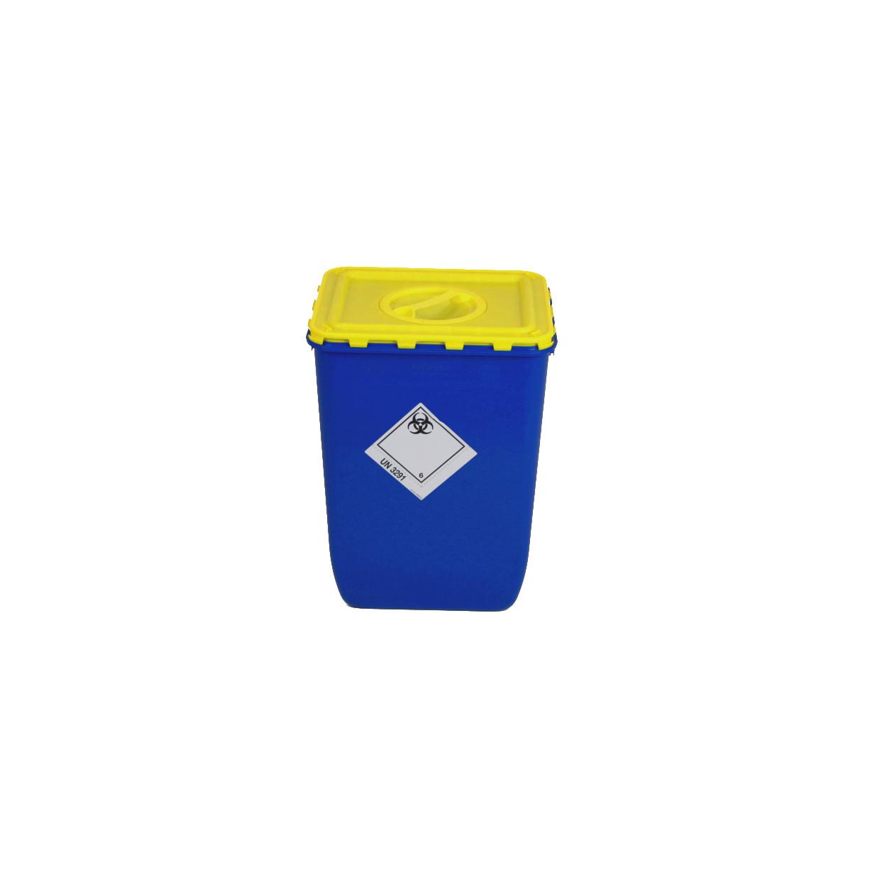 Box s víkem s otvorem na sběr biologického odpadu - 50 l
