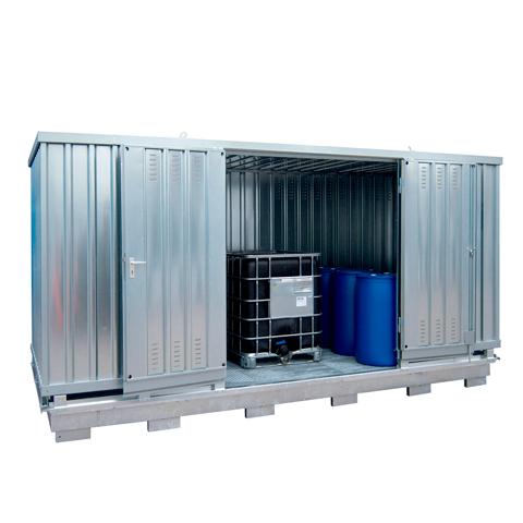 Ekosklad se samovolnou ventilací, 5×2