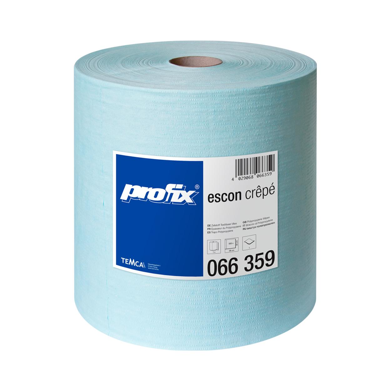Průmyslová textilní utěrka PROTEXT CREPE, v roli