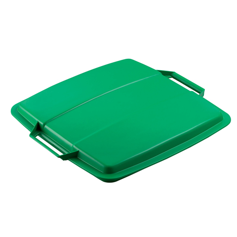 Víko k nádobě na odpad, zelené