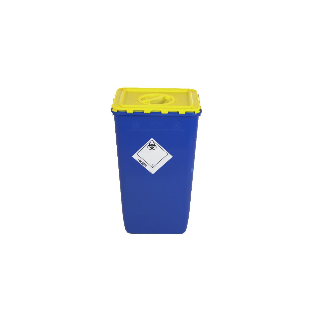 Nádoba na biologický odpad s víkem s otvorem, 60 l