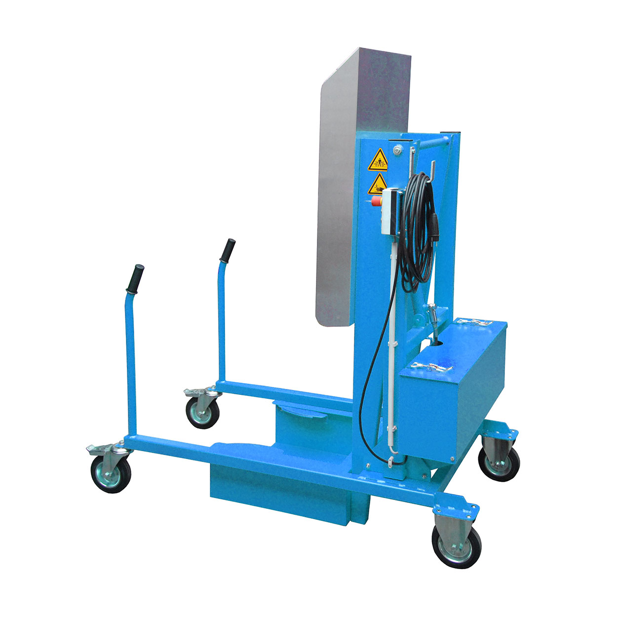 Pojízdný vyklápěč popelnic elektricko-hydraulický, 230 V