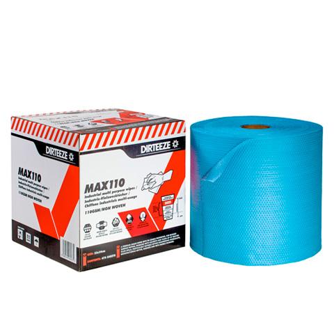 Pevná textilní průmyslová utěrka MAX 110 v roli