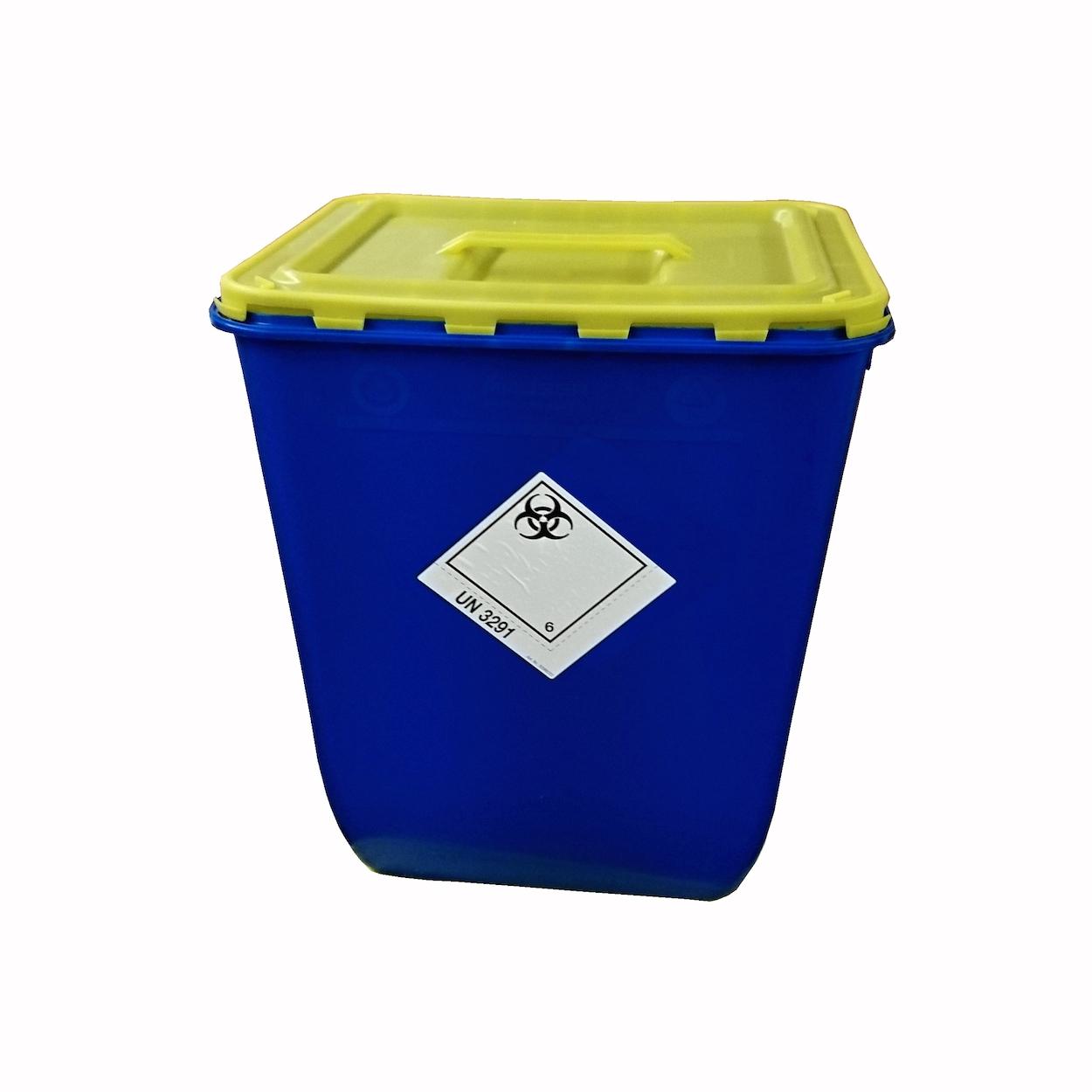 Box s víkem s úchopem na sběr biologického odpadu - 50 l