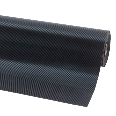 Ochranná průmyslová rohož s jemnou drážkou