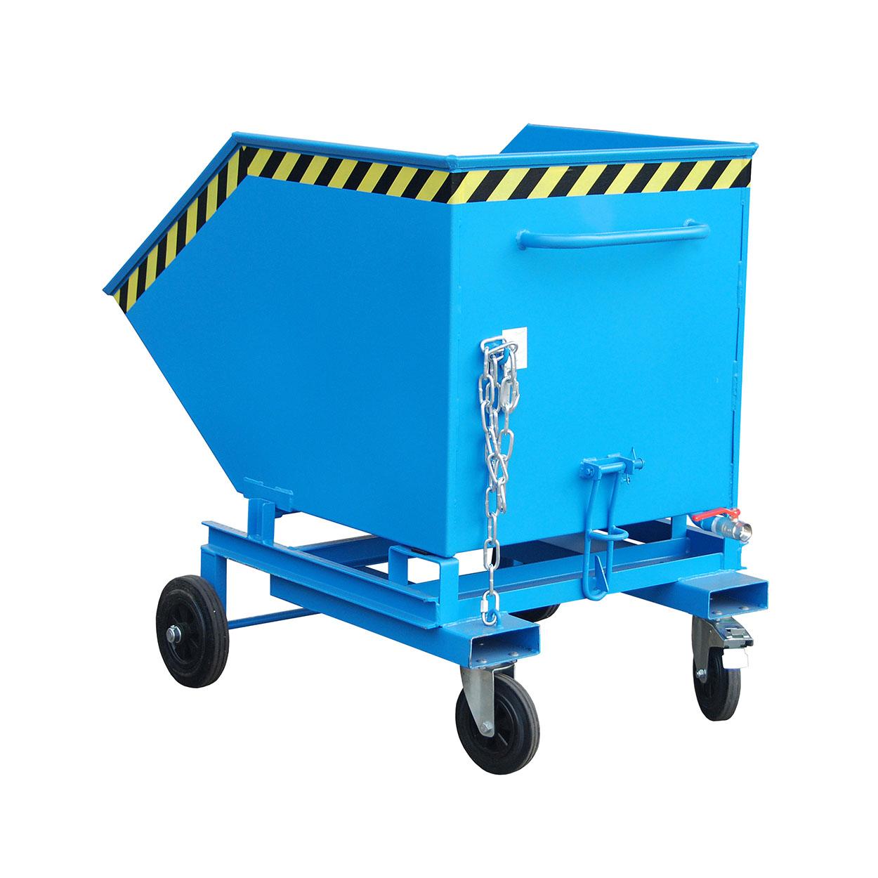 Výklopný vozík s výpustí