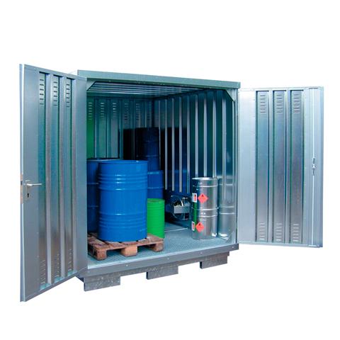 Ekosklad nebezpečných látek s nucenou ventilací, 2×2