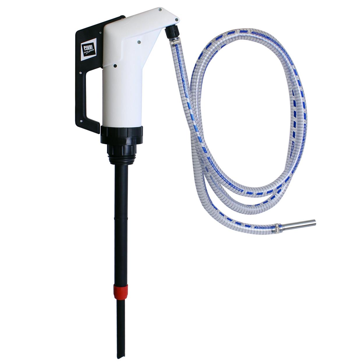 Pístová ruční sudová pumpa na AdBlue s příslušenstvím