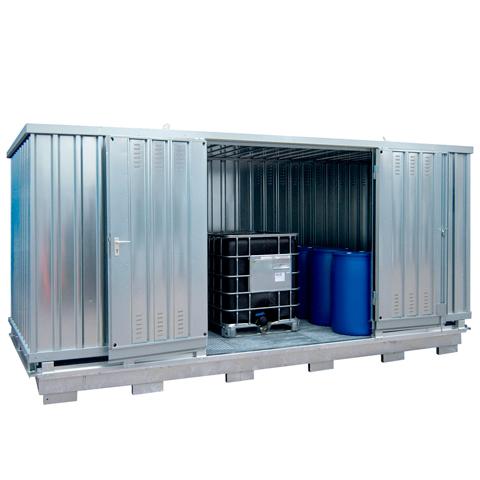 Ekosklad se samovolnou ventilací, 6×3
