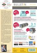 Bulletin - akce na sypké a textilní sorbenty