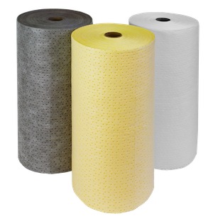 Textilní sorbenty, úklidové univerzální sorbenty, chemické sorbenty, olejové sorbenty